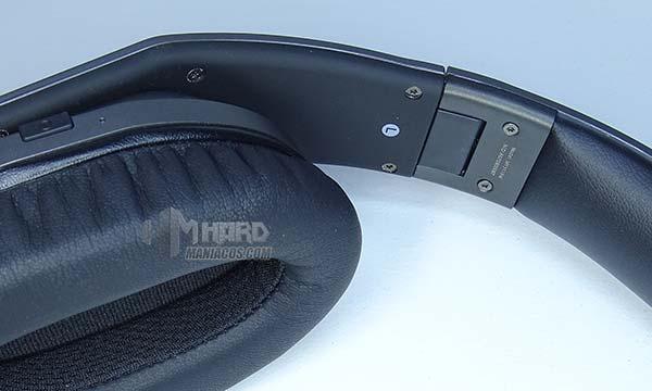 interior orejera auriculares Hammo Wireless