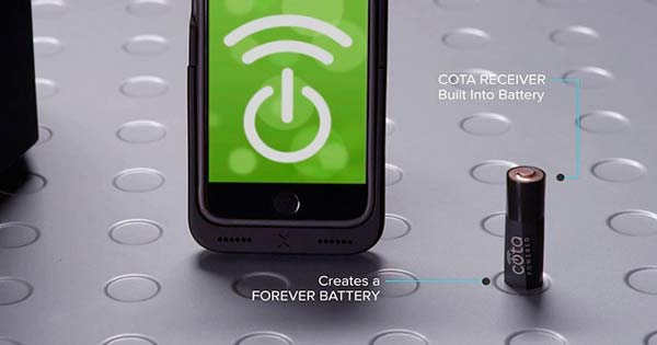 Cota Forever Battery y smartphone