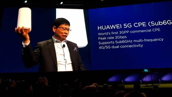 CPE 5G Huawei MWC2018