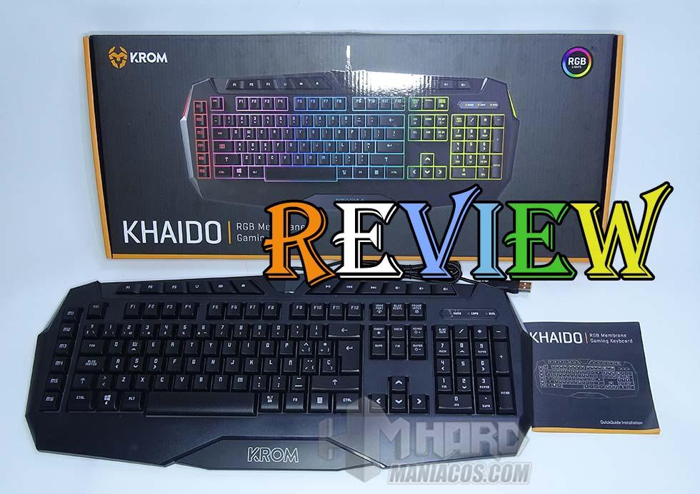 teclado krom khaido portada