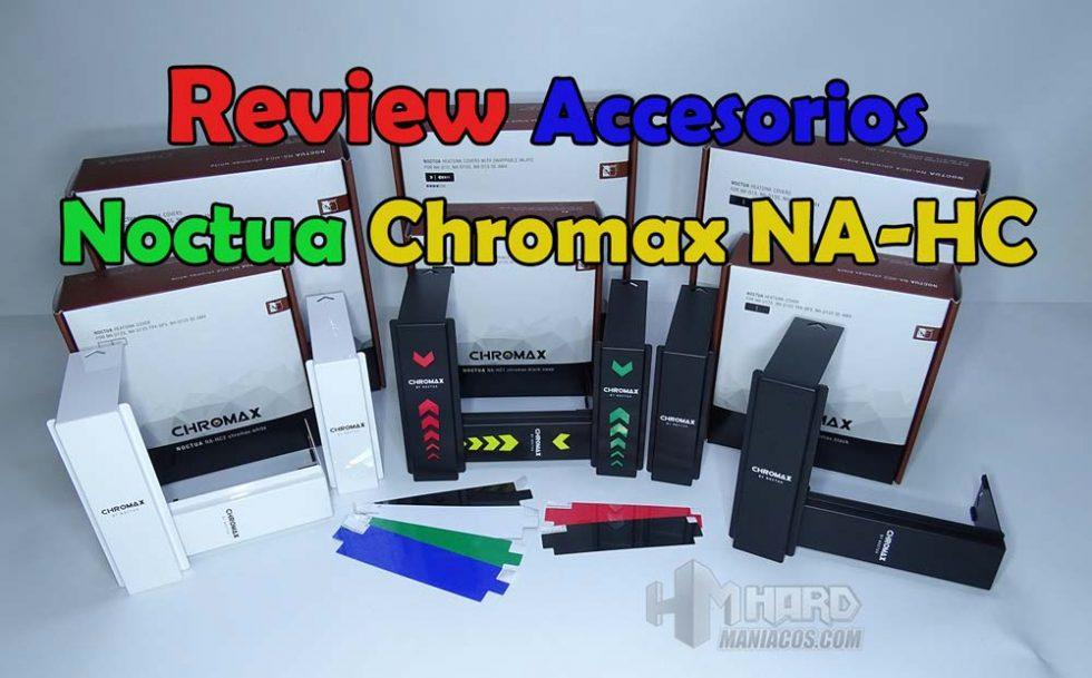 accesorios noctua chromax na-hc, portada