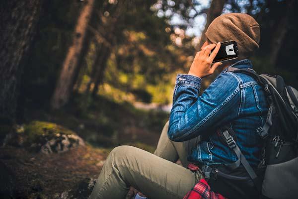 oukitel wp5000 en el bosque