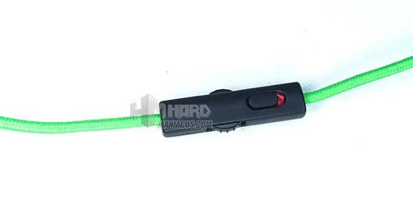 botonera cable Razer Kraken Pro V2