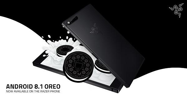 razer phone con android oreo 8.1