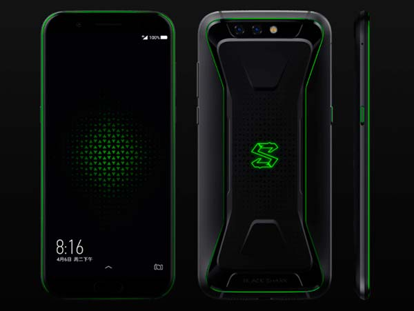 Xiaomi Black Shark diseño