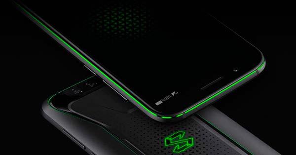 detalles verdes Xiaomi Black Shark