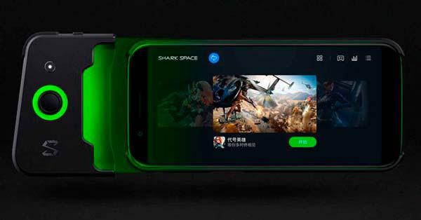colocación mando Xiaomi Black Shark
