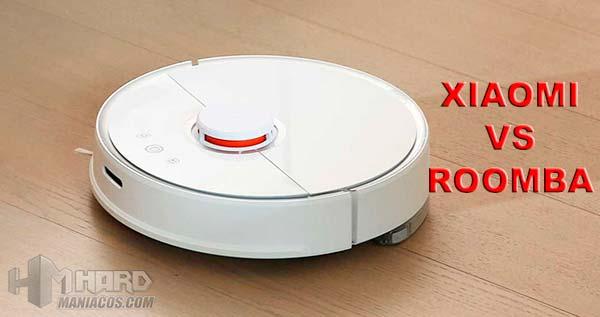 Comparativa aspirador Xiaomi Vacuum 2 Vs Roomba 895