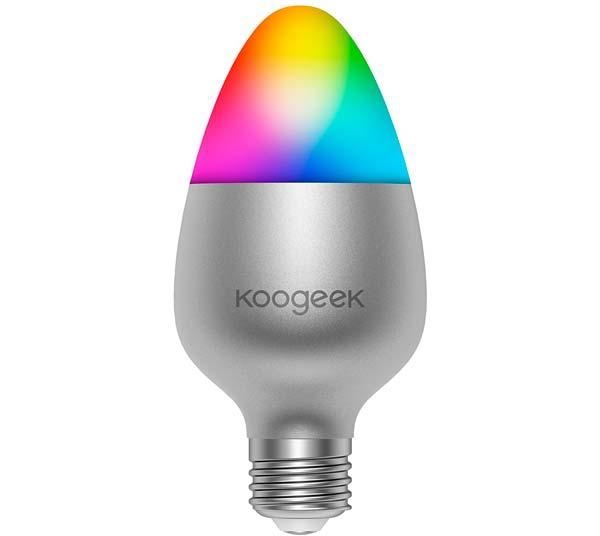 bombilla led wifi rgb de la marca koogeek