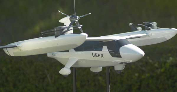 Primer prototipo del taxi aéreo de Uber