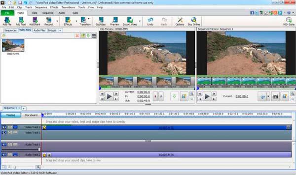 aplicación videopad