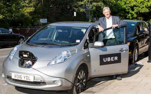 coche eléctrico uber