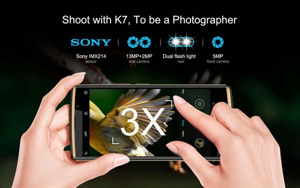 cámaras oukitel k7, portada