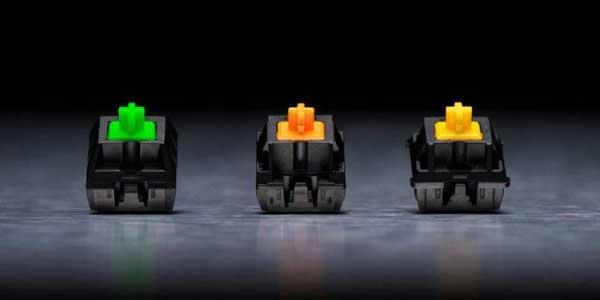switches mecánicos de razer, modelos
