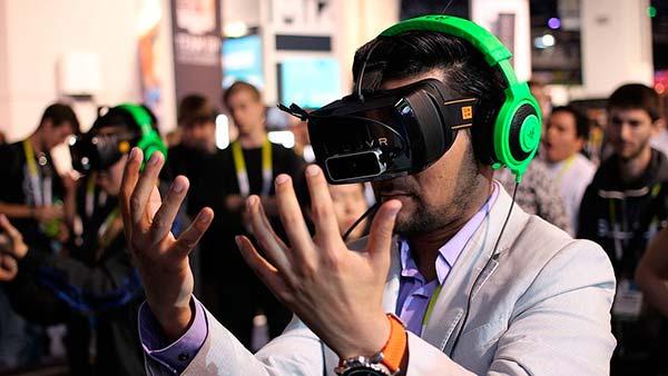 Gafas VR y auricualres Razer Kraken