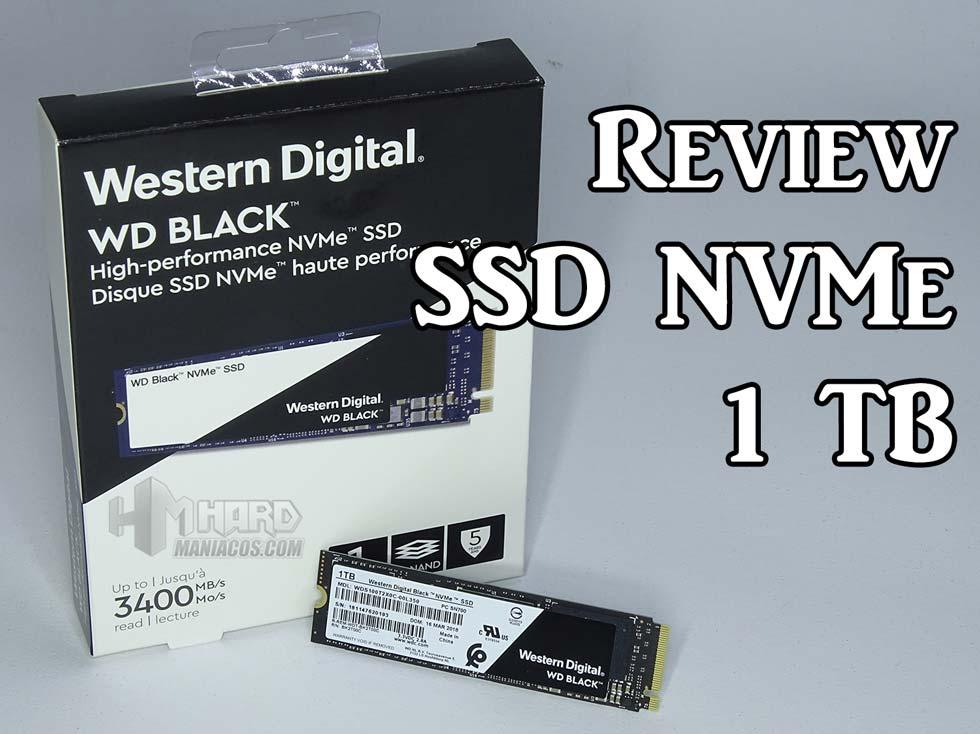 ssd wd black nvme, portada