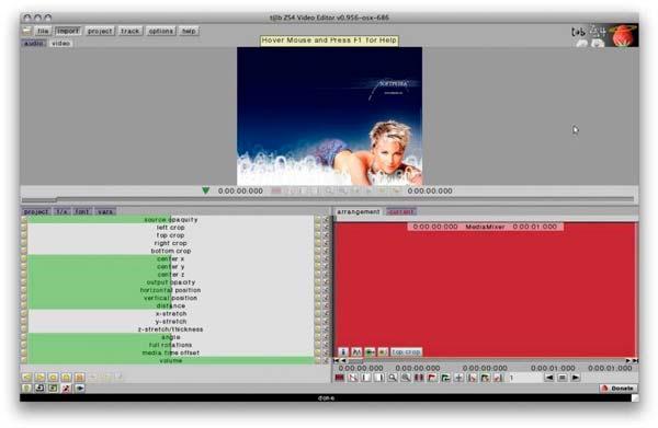 aplicacion zs4 video editor