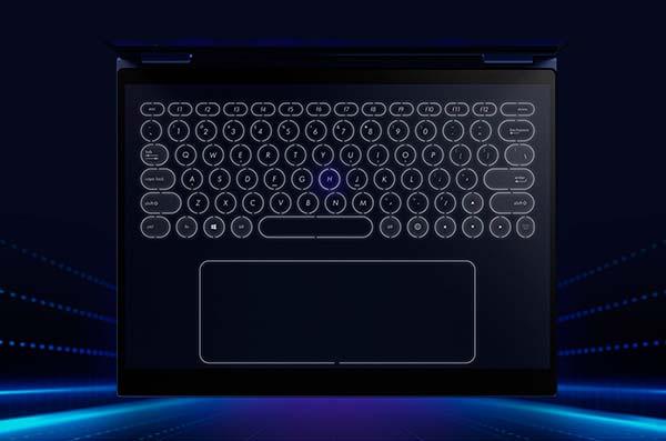 teclado táctil