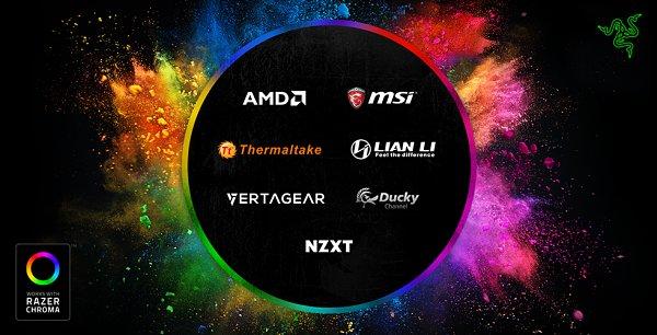 razer chroma llegará a distintas marcas