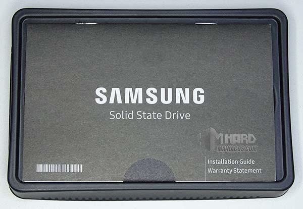 Folleto SSD Samsung 860 EVO e caja
