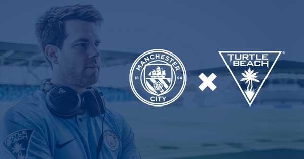 Manchester City eSports firma un acuerdo con Turtle Beach