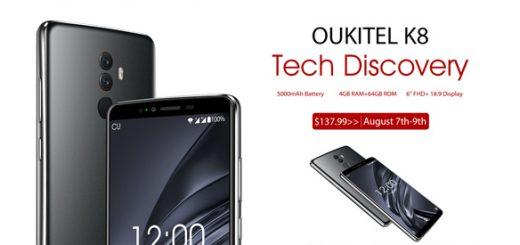 oukitel k8 en venta flash, portada