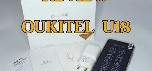 review oukitel u18, portada