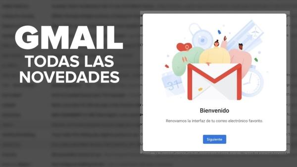 nuevas novedades de Gmail