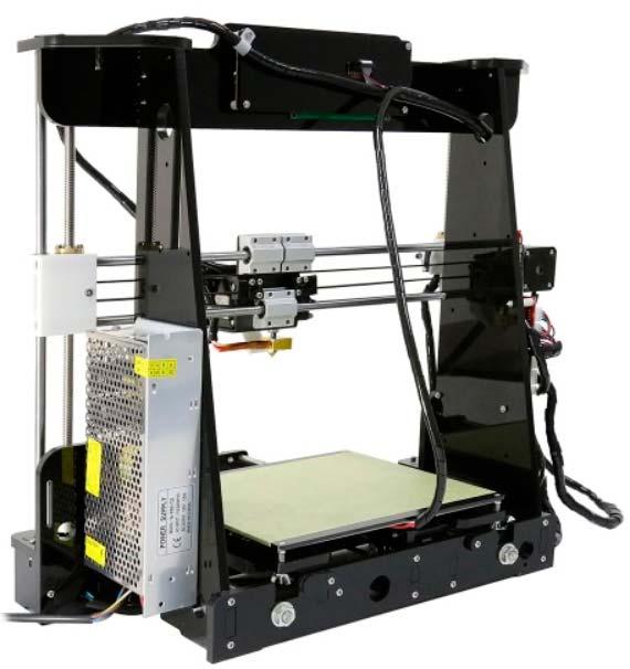 impresora 3d anet a8, montada