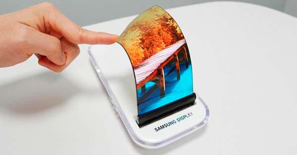 pantalla OLED flexible e irrompible de Samsung