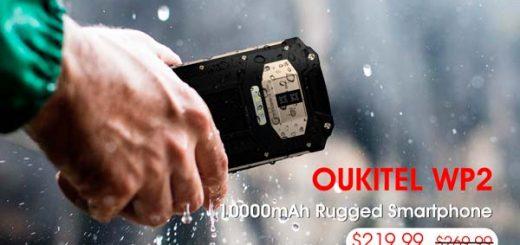 video oukitel wp2, portada