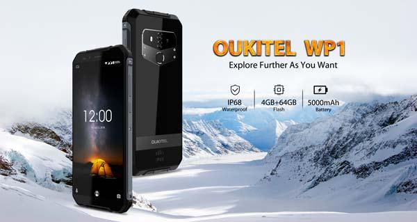 oukitel wp1, portada