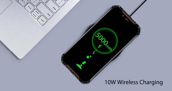 oukitel wp1, bateria