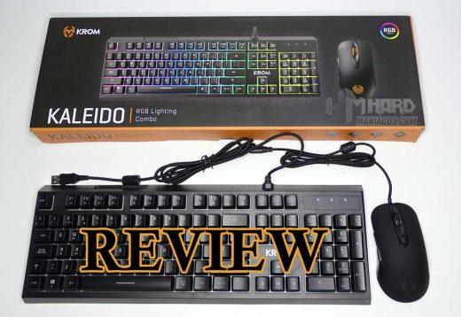 teclado krom kaleido, portada