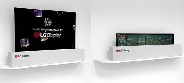 pantalla flexible LG