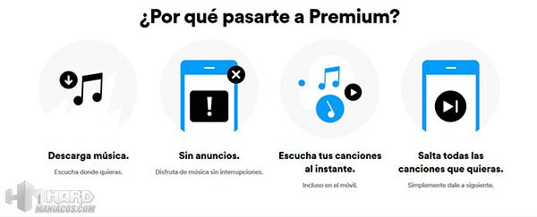 spotify premium ventajas