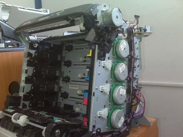 interior impresora laser