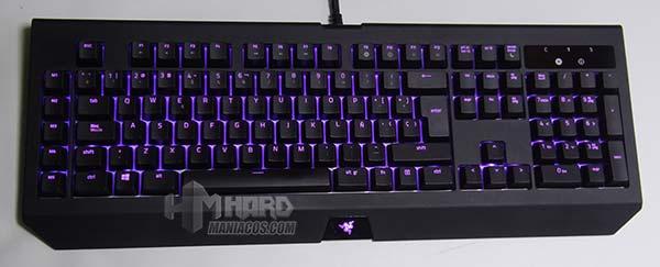 iluminación teclado razer blackwidow chroma v2 magenta