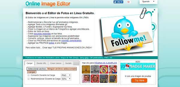 editor de fotos online image editor