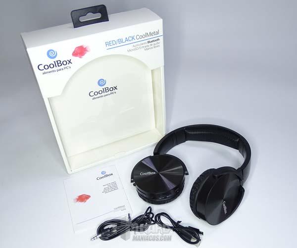 auriculares y accesorios CoolBox CoolMetal