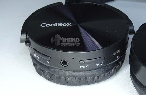 botones y conectores auriculares CoolBox CoolMetal