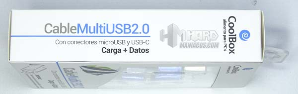 cable multi usb 2.0 coolbox