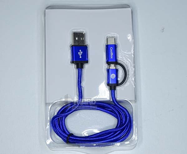 cable multi usb 2.0 coolbox, blíster