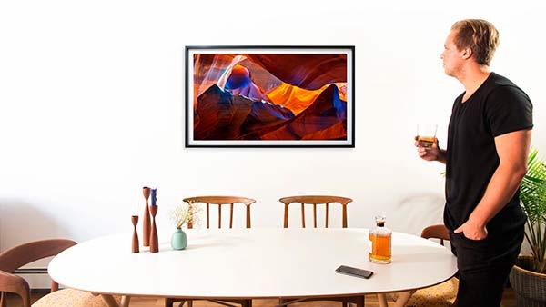 Depict Frame horizontal