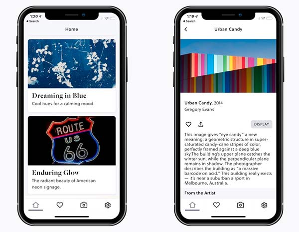 Depict Frame Art Club app