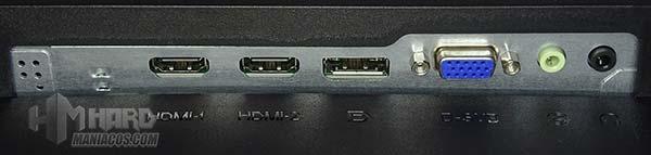 monitor aoc q2790pqu conectores panel trasero