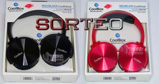 auriculares CoolBox sorteo