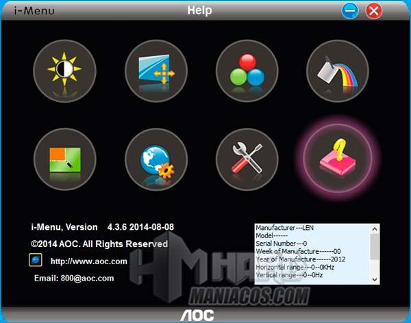 monitor aoc q2790pqu i-menu