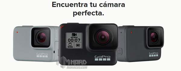 Nuevas cámaras GoPro Hero 7 Black, Silver y White