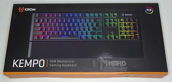 caja teclado krom kempo
